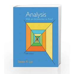 Analysis with an Introduction to Proof (Featured Titles for Real Analysis) by  Book-9780321747471