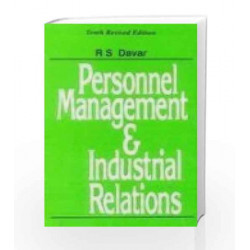 Personnel Management and Industrial Relations by R.S. Davar Book-9780706999051