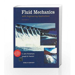 Fluid Mechanics with Engineering Applications by E. Finnemore Book-9781259002274
