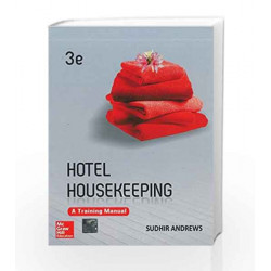 Hotel Housekeeping: A Training Manual by Andrews Book-9781259004988