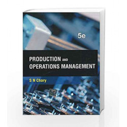 Production and Operations Management by S. Chary Book-9781259005107