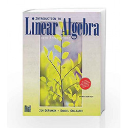 Introduction to Linear Algebra with Applications by Jim Defranza Book-9781259025587