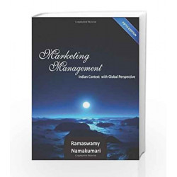 Marketing Management: A Strategic Decision Making Approach by V.S. Ramaswamy Book-9781259026416