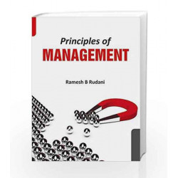 Principles of Management by Rudani Book-9781259026553
