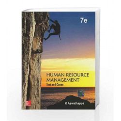 Human Resource Management: Text and Cases by Aswathappa Book-9781259026829