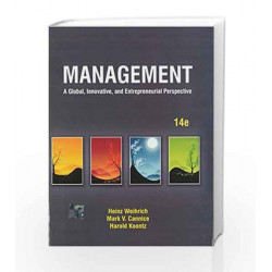 Management: A Global, Innovative and Entrepreneurial Perspective by Weihrich Book-9781259026836