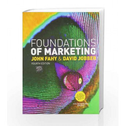 Foundations of Marketing by John Fahy Book-9781259027611