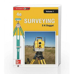 Surveying - Vol. 1 by Duggal Book-9781259028991