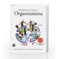 Interpersonal Skills in Organizations by Suzanne De Janasz Book-9781259029073
