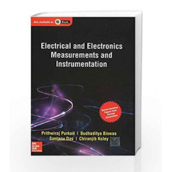 Electrical and Electronics Measurements and Instrumentation by Prithwiraj Purkait Book-9781259029592