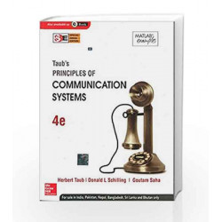 Principles of Communication Systems (SIE) 4E by Herbut Taub Book-9781259029851