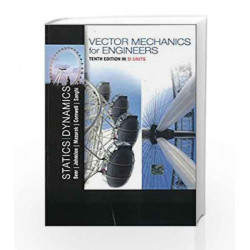 Vector Mechanics for Engineers: Statics and Dynamics by Beer Book-9781259062919