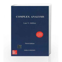 Complex Analysis by Lars Ahlfors Book-9781259064821