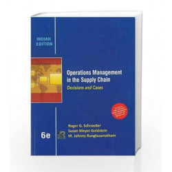 Operations Management in the Supply Chain: Decisions and Cases by Schroeder Book-9781259097362