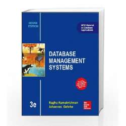 DATABASE MANAGEMENT SYSTEMS 3E by Ramakrishnan Book-9789339204075