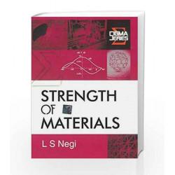 Strength of Materials (Sigma Series) by L Negi Book-9780070634596