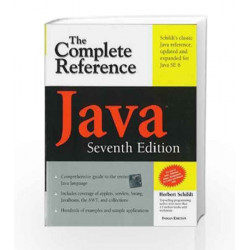 Java: The Complete Reference, Seventh Edition by  Book-9780070636774