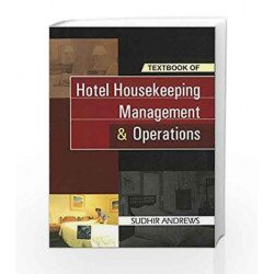 Hotel Housekeeping Management and Operations by Sudhir Andrews Book-9780070655720