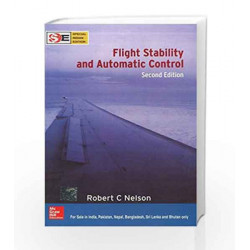FLIGHT STABILITY AND AUTOMATIC CONTROL (SIE) by Robert Nelson Book-9780070661103