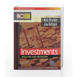 Investment: Analysis and Behavior - SIE by Mark Hirschey Book-9780070667136
