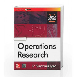 Operations Research by P. Iyer Book-9780070669024