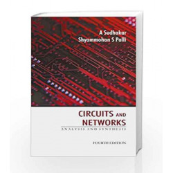 Circuits and Networks by A. Sudhakar Book-9780070699724
