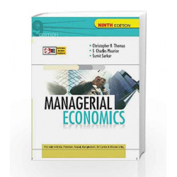 Managerial Economics by Christopher Thomas Book-9780070700789