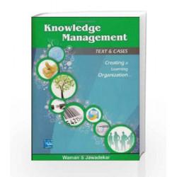 Knowledge Management by Waman Jawadekar Book-9780070700864