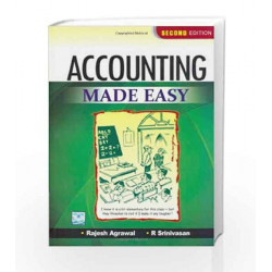 Accounting Made Easy by Rajesh Agrawal Book-9780070700987