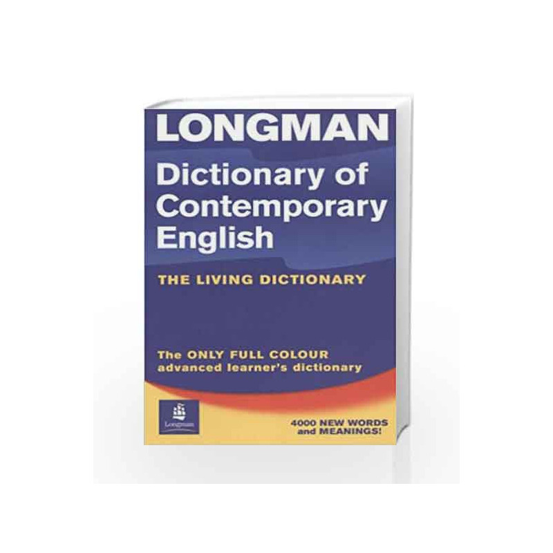Longman Dictionary of Contemporary English 4th Edition Update 2005 International Edition Paper