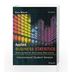 Applied Business Statistics, 7ed, ISV