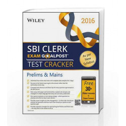 Wiley's State Bank of India (SBI) Clerk Exam Goalpost Test Cracker: Prelims & Mains