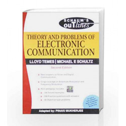 Theory and Problems of Electronic Communication: Schaum's Outlines Series by Lloyd Temes Book-9780070151444