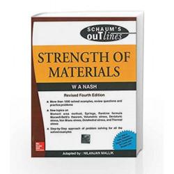 Strength of Materials (Schaum's Outline Series) by William Nash Book-9780070700338
