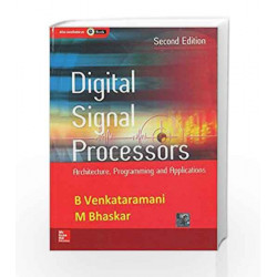 Digital Signal Processors E/2 by B. Venkataramani Book-9780070702561