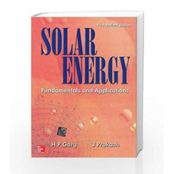 Solar Energy : Fundamentals and Applications by H Garg Book-9780074636312