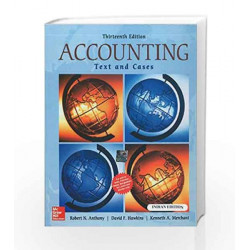 Accounting: Texts and Cases by Robert Anthony Book-9781259097126