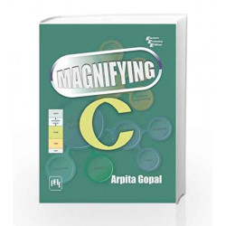 Magnifying C by Gopal Book-9788120338616