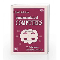 Fundamentals of Computers by Rajaraman V Book-9788120350670