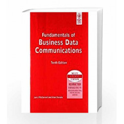 Fundamentals of Business Data Communications, ISV by Jerry Fitzgerald Book-9788126521500