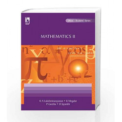 Mathematics - II (Anna) by K.A. Lakshminarayanan Book-9788125942344
