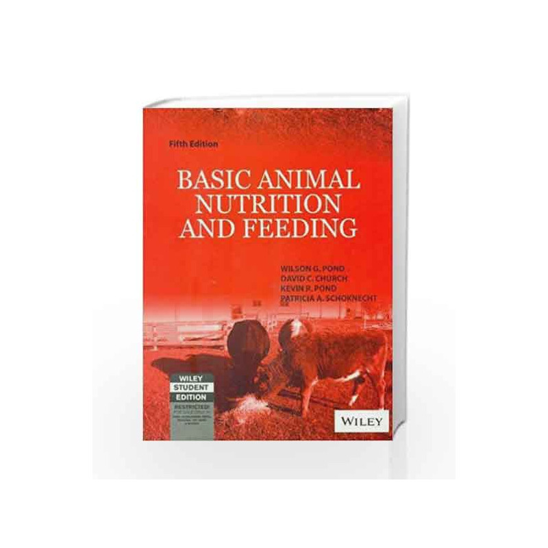 basic animal nutrition and feeding pond pdf