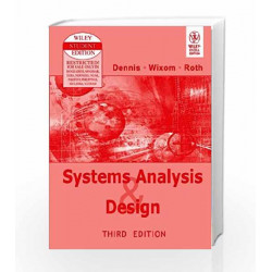 System Analysis and Design by Dennis Book-9788126508808