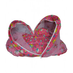 Pink Baby Bed Mosquito Net