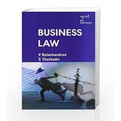 Business Law by V Balachandran Book-9780070078055