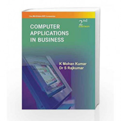 Computer Applications in Business by K Kumar Book-9780070081147