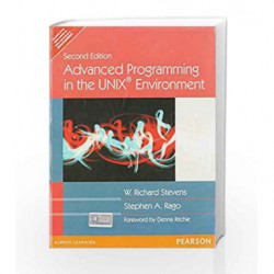 Advanced Programming in the UNIX Environment by W. Richard Stevens Book-9788131700051