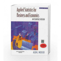 Applied Statistics for Business and Economics: An Essentials Version by Allen Webster Book-9780070703544