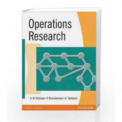 Operations Research (Old Edition) by A.M. Natarajan Book-9788131700006