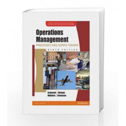 Operations Management, 9th Edition (Old Edition) by Lee J. Krajewski Book-9788131728840